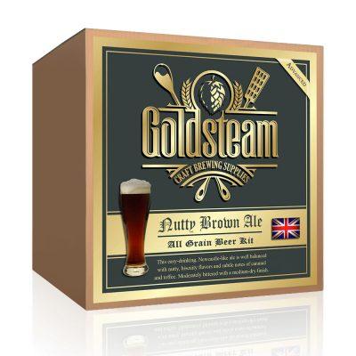 British Nut Brown All Grain Beer Kit