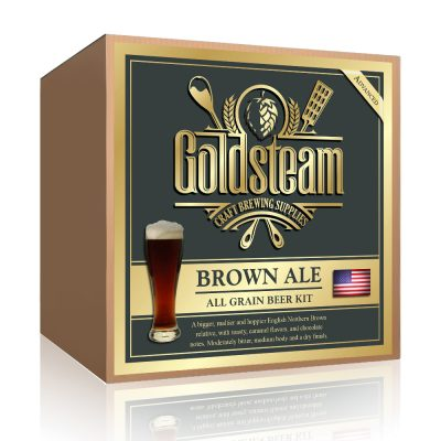 American Brown Ale All Grain Beer Kit