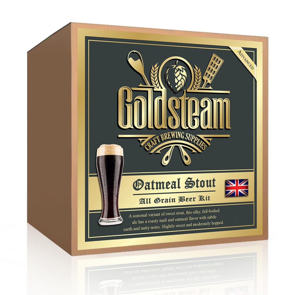 British Oatmeal Stout All Grain Beer Kit Goldsteam Home