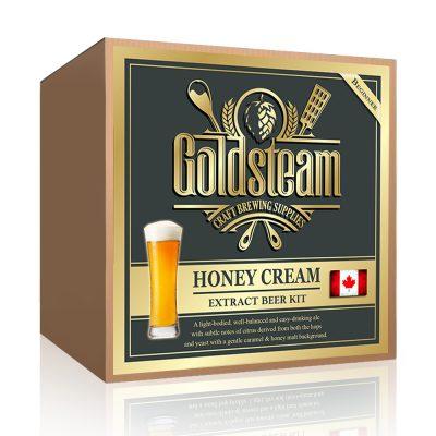 Honey Cream Ale Malt Extract Beer Kit