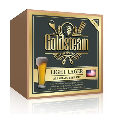 Lite American Lager All Grain Beer Kit