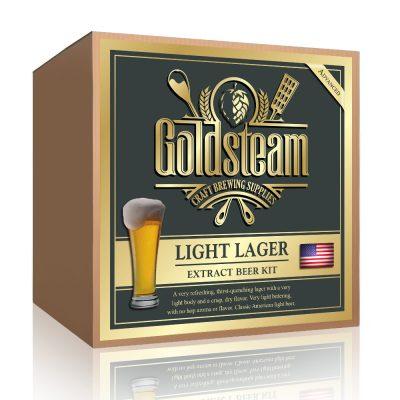 Lite American Lager Malt Extract Beer Kit