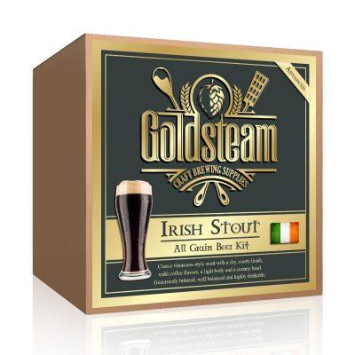Dry Irish Stout All Grain Beer Kit