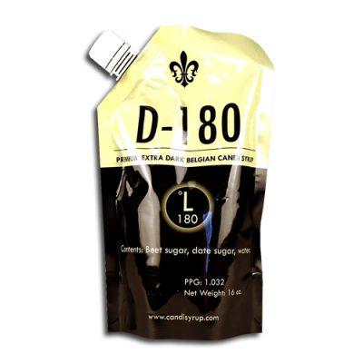 D-180 Premium Extra Dark Belgian Candi Syrup