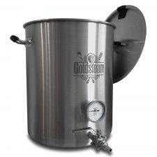 The 15 Gallon Brewmaster Welded Brew Kettle