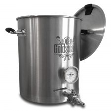 The 10 Gallon Brewmaster Welded Brew Kettle