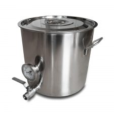 8 Gallon Stainless Steel Welded Brew Kettle