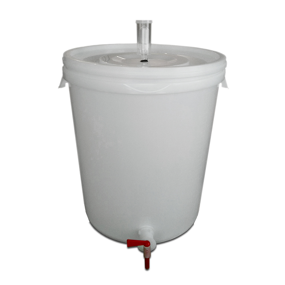 The white whale 8 gallon fermenter and bottling bucket for Craft a brew fermenter