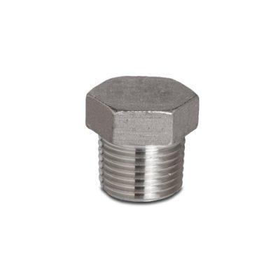 """Stainless Steel 1/2"""" NPT Plug"""