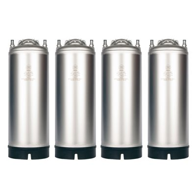 AMCYL 5 Gallon Ball Lock Kegs (4 Pack)
