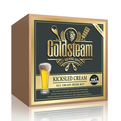 NWT Brewing Co Cream Ale All Grain Beer Kit