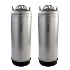 New AEB 5 Gallon Ball Lock Kegs (2 Pack)