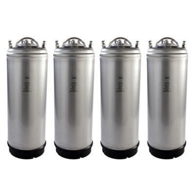 New AEB 5 Gallon Ball Lock Keg (4 Pack)