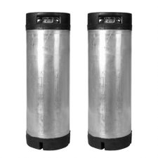 Used 5 Gallon Cornelius Ball Lock Kegs (2 Pack)