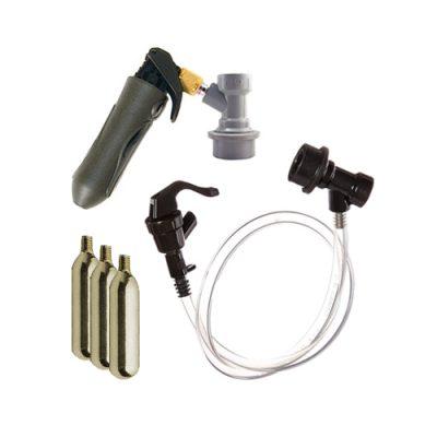 CO2 Keg Charger Cobra Tap Kit