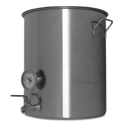 20 Gallon Stainless Steel Welded Brew Kettle