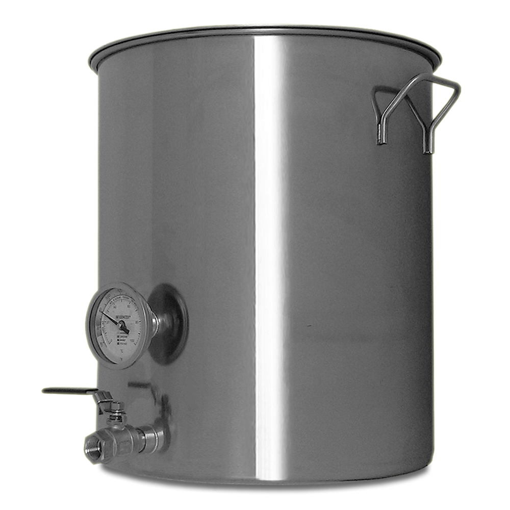 20 Gallon Stainless Steel Welded Brew Kettle For Making Beer Goldsteam