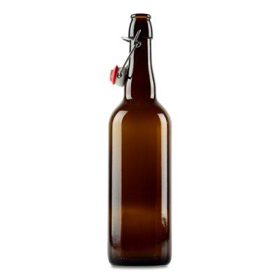 Belgian Style Glass Flip Top Bottles