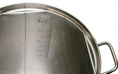 Brewer's Edge Mash & Boil Gallon Markings