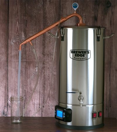 Brewer's Edge Mash & Boil Still Spirits Copper Condenser