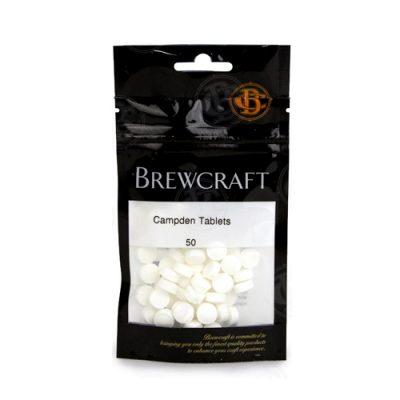 Campden Tablets (Potassium Metabisulfite) Bag of 50