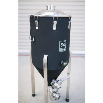 Ss BrewTech 14 Gallon Chronical Brewmaster Edition Fermenter Jacket