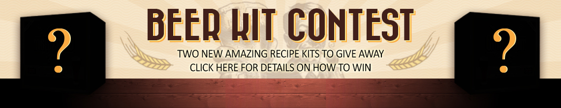 Beer Kit Contest Banner