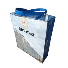 Canada Malting Oat Malt Recycled Beer Grain Tote Bag