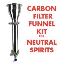 Carbon Filter Funnel Kit for Neutral Spirits