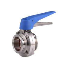 """Stainless Steel 1.5"""" TC Butterfly Valve"""