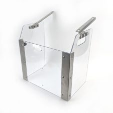 Splash Guard for Cannular Bench Top Can Seamer