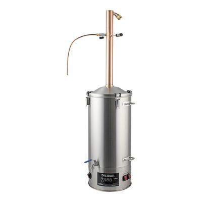 35L DigiBoil Distilling Kit with Copper Reflux Condenser 220V